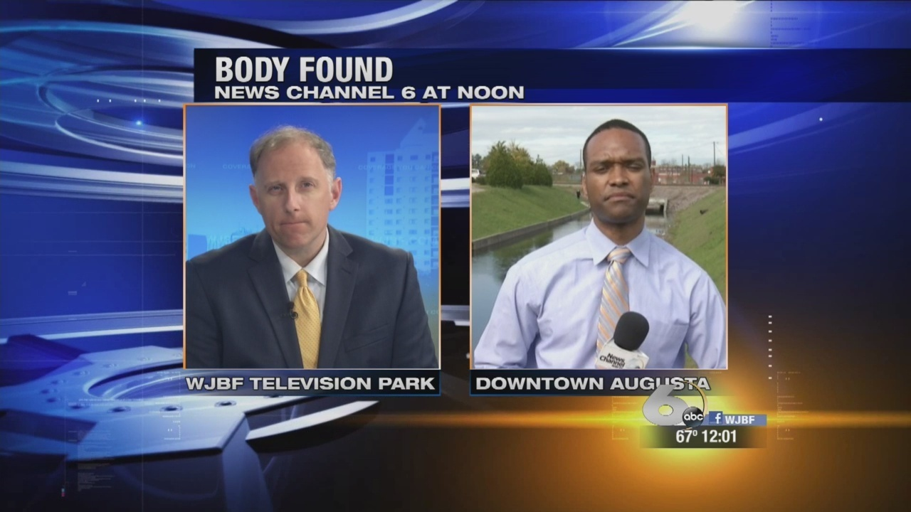 Body Removed From The Augusta Canal Identified