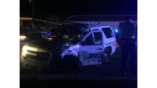 Officer Injured in North Augusta Accident