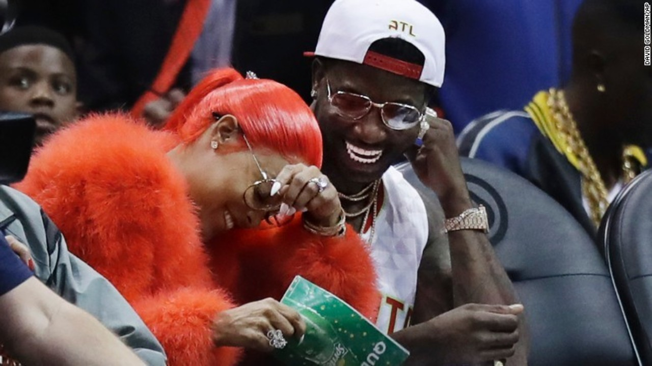 Gucci Mane Gets Engaged On Atlanta Hawks Kiss Cam