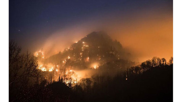 Wildfires prompt evacuations in Gatlinburg and Pigeon Forge