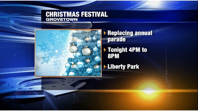 Grovetown hosting Christmas festival instead of annual parade Saturday