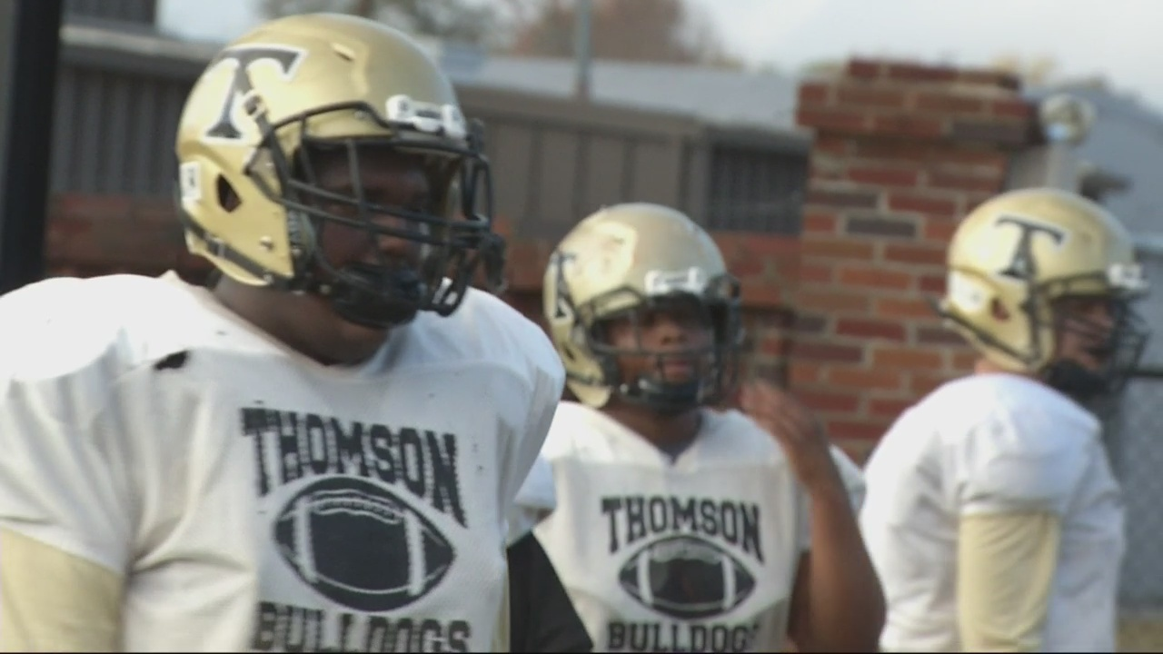thomson football team, community ready for saturday's state