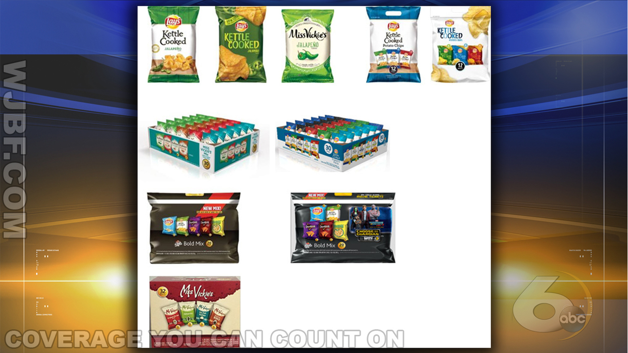 Frito-Lay recalls thousands of bags of popular chips