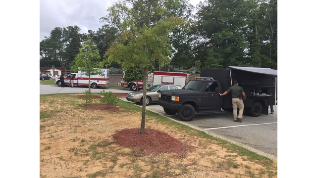 Suspect arrested after standoff with US Marshals and CCSO on Cox Road