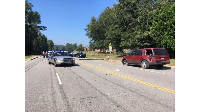 Two suspects in custody after high-speed chase in Aiken