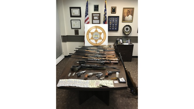 Three arrested on drugs and gun bust in Burke County