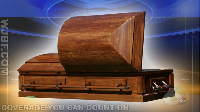 Ad selling used coffin pops up on Facebook