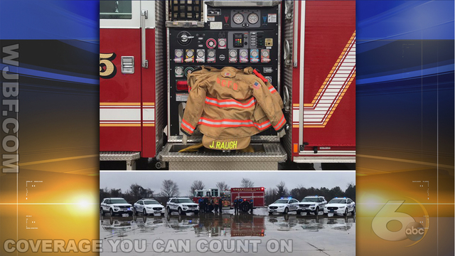 SC & NC firefighters pay homage to boy killed in McCormick fire