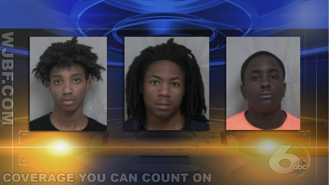 Three arrested after fatal shooting in Burke County