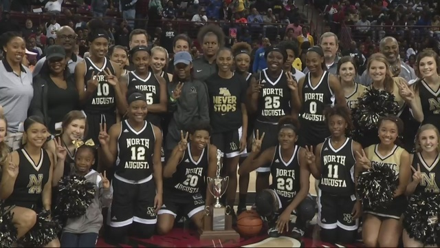 Back to back champs: North Augusta girls win state title