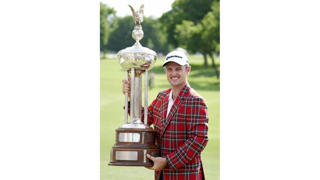 Justin Rose cruises to win at Colonial