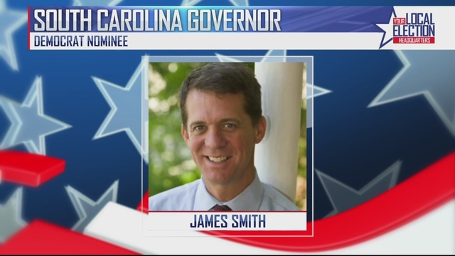 James Smith defeats challengers and wins Democratic nod for South Carolina governor