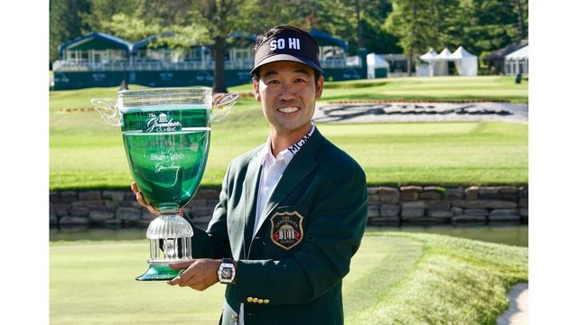 Kevin Na wins by 5 shots at The Greenbrier for 2nd career PGA Tour win