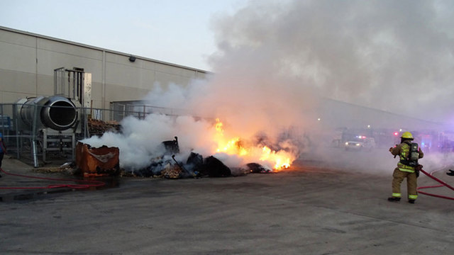 'Spontaneous combustion' of tortilla chips sends firefighters to factory
