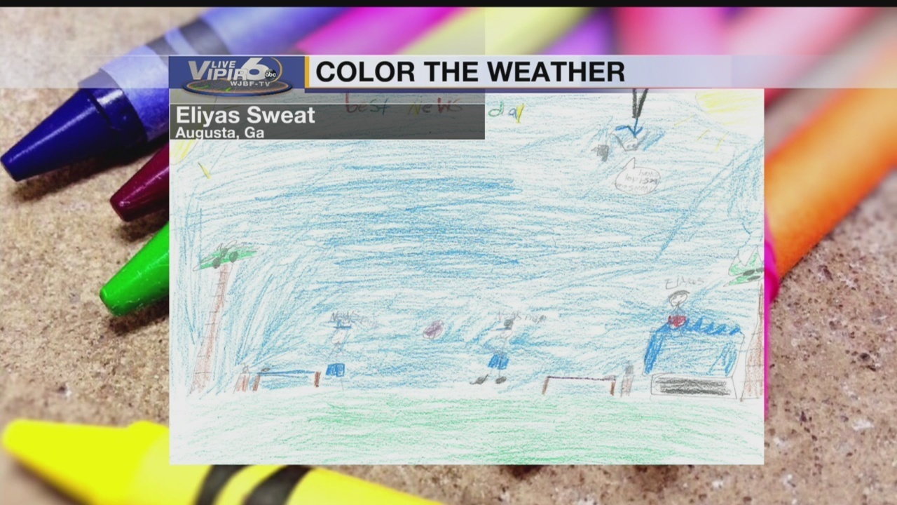 Color The Weather Wednesday August 1 2018