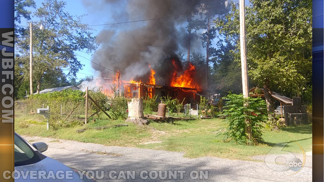 Crews respond to house fire on Cary Drive in North Augusta