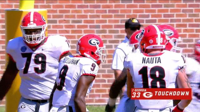 No. 2 Georgia outduels Missouri, 43-29