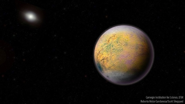 Scrawny dwarf planet, named Goblin, found well beyond Pluto