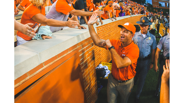No. 4 Clemson runs past Wake Forest, 63-3