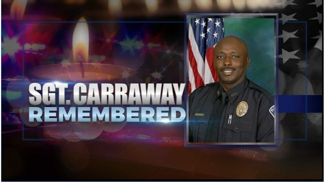 Funeral set for Police Sgt Carraway killed in Florence ambush