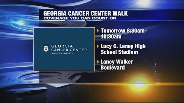Georgia Cancer Center to host a 1.5-mile walk to bring attention to 28 cancers treated at the center