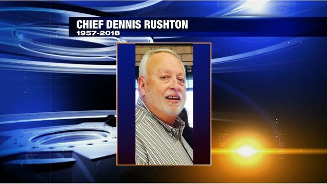 Jackson residents mourn loss of Police Chief Dennis Rushton