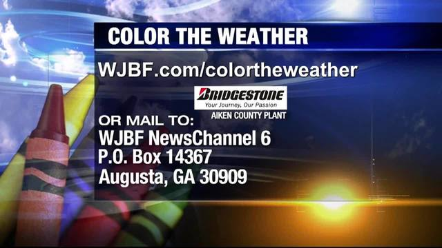Color the Weather Wednesday, December 19, 2018