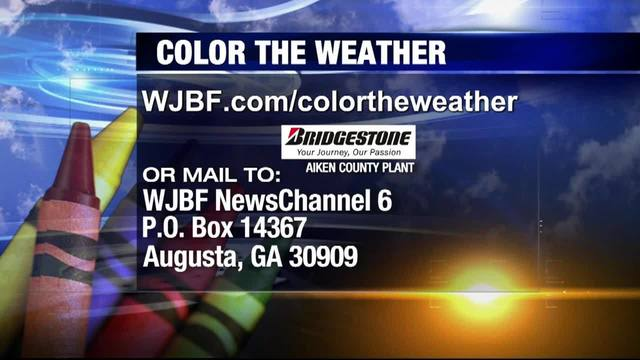 Color the Weather Wednesday, January 16, 2019