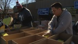 Food drive helps the furloughed and many others