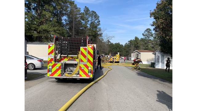 Crews respond to fire at Castle Pines on Mike Padgett Highway