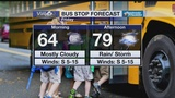 Bus Stop Forecast Friday, March 15, 2019