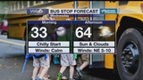 Bus Stop Forecast Wednesday, March 20, 2019