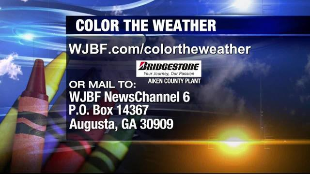 Color the Weather Friday, April 12, 2019